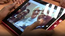 iPads are bridging the generation gap in a Bristol care home