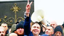 Как в Киеве пытались задержать Саакашвили
