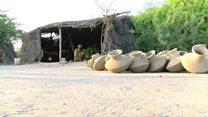 مٹی سے بنا قدیم ساز بھورینڈو
