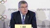 Бах: Россия отстраняется от участия в Олимпиаде
