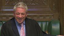 Speaker mispeaks to create 'MP for Brexeter'
