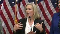 Senator Gillibrand calls on Franken to quit