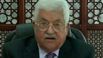 عباس: الإعلان يعد مكافأة لإسرائيل