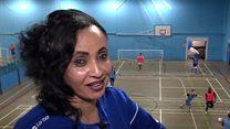 Eritrean ref helps refugees through football