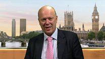Grayling 'an optimist' on Brexit talks