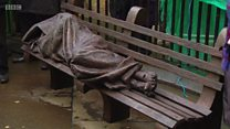 'Homeless Jesus' in Glasgow