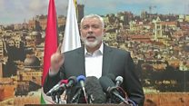 Hamas leader calls for 'resistance'