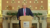 Johnson defends 'go whistle' remark