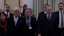 တူရကီ သမ္မတ ဂရိကို လာရောက်