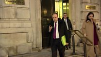DUP deputy leader's 'no comment' on talks