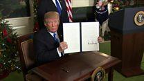 واکنشها به فرمان ترامپ در رابطه با پایتخت اسرائیل