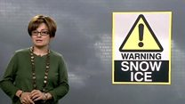 Snow and ice forecast for Wales