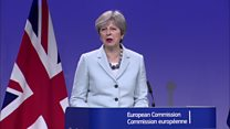 May announces deal in Brexit talks