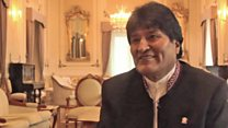 "Evo Morales: ""Yo no busco cargos, a mí me buscan y me buscaron"""
