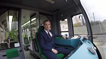 New safety systems for London's tram drivers