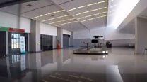 El lujoso aeropuerto fantasma construido en uno de los países más pobres del mundo