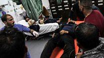 بالفيديو : مقتل فلسطيني برصاص جنود إسرائيليين في غزة