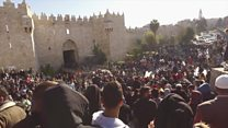 In Jerusalem on the 'Day of Rage'