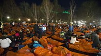 The 'world's biggest sleepout'