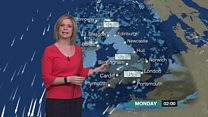 Icy conditions forecast for Monday