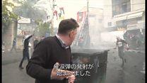 米のエルサレム承認にレバノンでも抗議 BBC記者も催涙ガス浴び