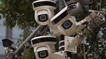 中国の監視カメラがたちまち人を特定 AI付き監視カメラ全国に
