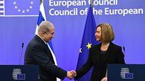 EU and Israel at odds on Jerusalem