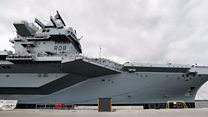 UK's biggest warship commissioned