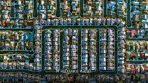 Впечатляющие фото городов США с вертолета
