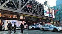 Взрыв в центре Нью-Йорка