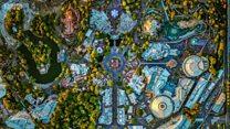 فضا سے لی گئی امریکی شہروں کی تصاویر