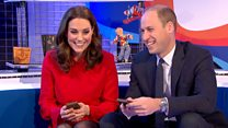 The Duke and Duchess of Cambridge earn Gold Badges