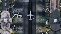 Las espectaculares imágenes aéreas tomadas desde un helicóptero en EE.UU.