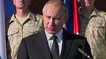 Vladimir Poutine retire partiellement ses soldats de la Syrie