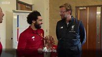 Mohamed Salah ashinda tuzo ya BBC ya mchezaji bora Afrika