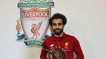 Mohamed Salah na BBC African Footballer of di year