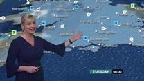 Forecast for ice and freezing fog