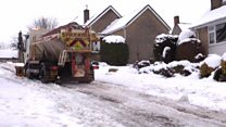 Gritter sent to get widow to funeral