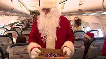 Santa's special flight