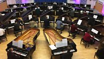 University boost as 27 pianos arrive