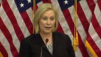 Senator accuses Trump of 'sexist smear'