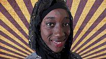 The hijabi circus girl