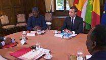 En France, nouvelles promesses de soutien au G5 Sahel