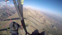 قله دماوند از نگاه یک چترباز