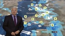 'Breezy and windy with some snow'