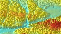 Fly down Greenland's mega-canyon