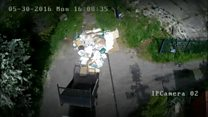 Fly-tipping prosecutions tumble
