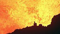 ¿Sabes lo que siente al estar dentro de un volcán activo?