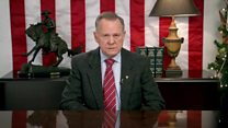Defiant Roy Moore lists what's wrong with US