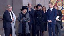 Royal Family attends Grenfell memorial